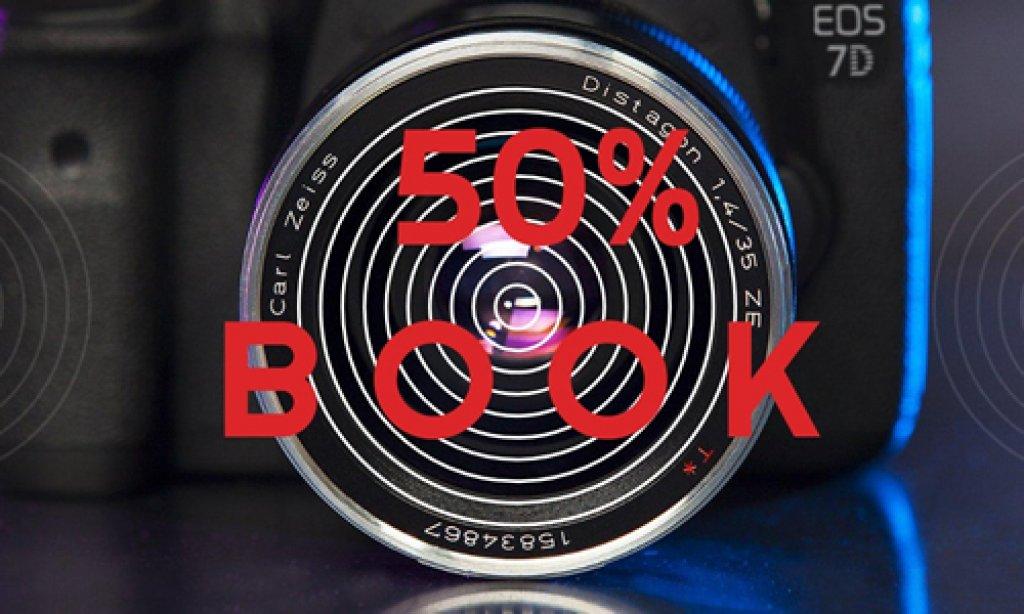 50% de descuento en Book de Modelaje